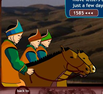 Race Across TheSteppe Game