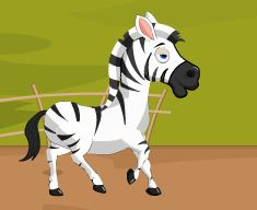 Racing Zebra Game