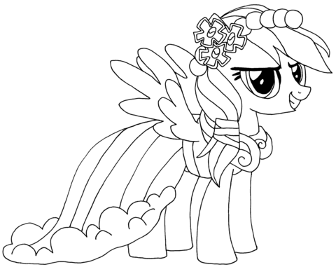 Rainbow Dash from My Little Pony Game