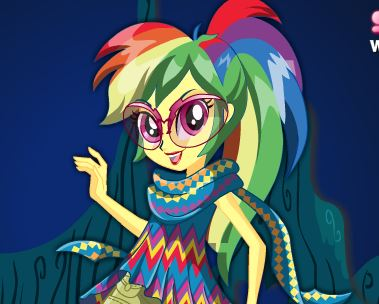 Rainbow Dash Dress Up Game