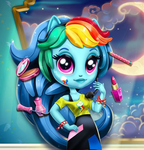 Rainbow Dash K Pop Fashion Game