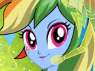 Rainbow Dash Rainbooms Style Game