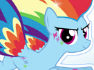 Rainbow Dash Rainbow Power Style Game