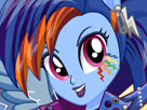 Rainbow Dash Rocking Hairstyle Game