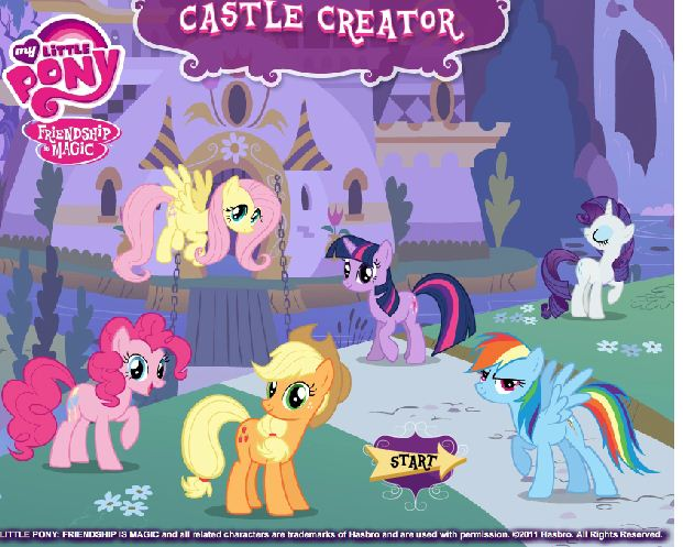 Rainbow Horse's Castle Game