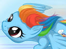 Rainbow Pony Dash Game