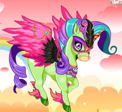 Rainbow Unicorn Game