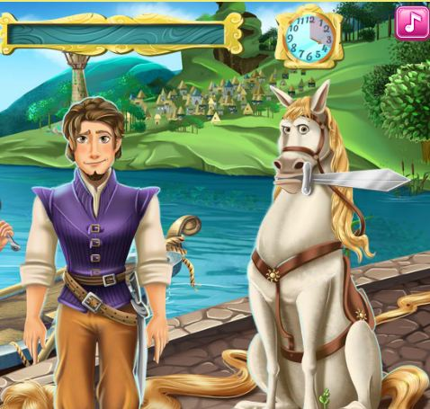 Rapunzel Love Story Game