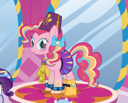 Rarity's Dress Up Game
