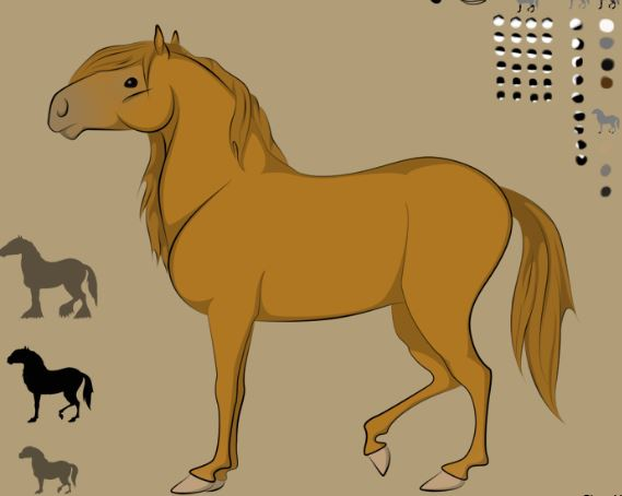 Robe Au Choix Horse Maker Game
