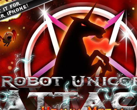 Robot Unicorn Attack Game