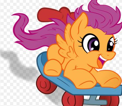 Scootaloo Cutie Mark Skater Game