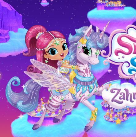 Shimmer And Shine Zahramay Skies Game