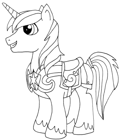 Shining Armor from My Little Pony Game