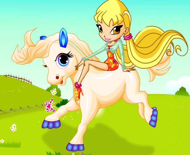 Stella Pony Dressup Game