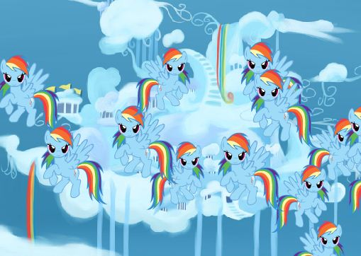 Swat Rainbow Dash Game