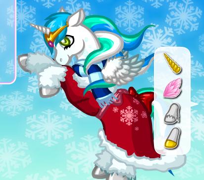 Sweet Winter Pony Game