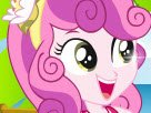 Sweetie Belle Dress Up Game