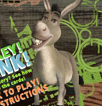 Think Donkey Think Game