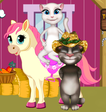 Tom And Angela Pony Care Game