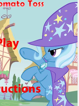 Trixie s Tomato Toss Game