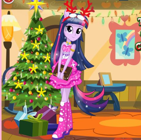 Twilight Sparkle Christmas Prep Game