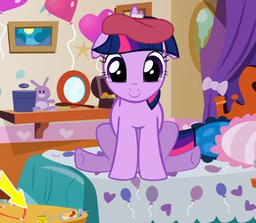 Twilight Sparkle Flu Treatment Game