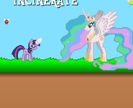 Twilight Sparkle Pest Exterminator Game