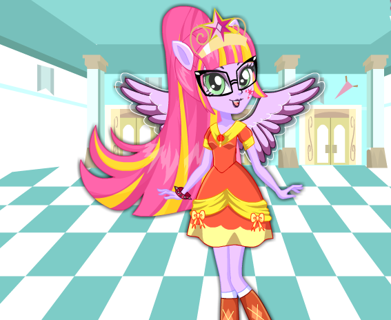 Twilight Sparkle School Spirit Style Game