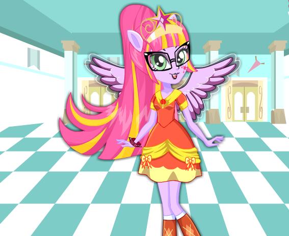 Twilight Sparkle School Spirit Style Game