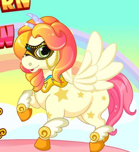 Unicorn Over The Rainbow Game