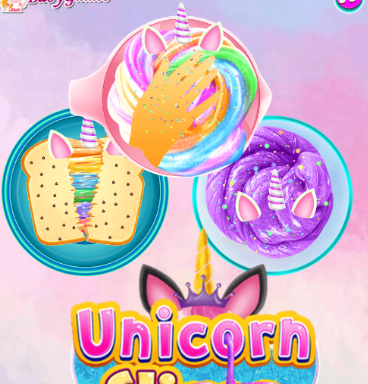 Unicorn Slime Cooking 2 Game
