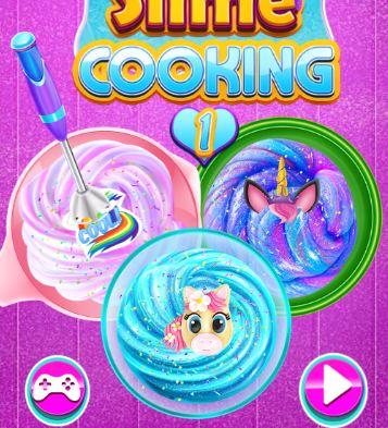 Unicorn Slime Cooking Game