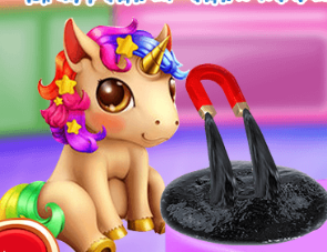 Unicorn Slime Maker Game