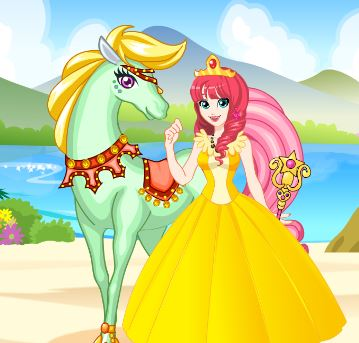 White Horse Princess 2 Game