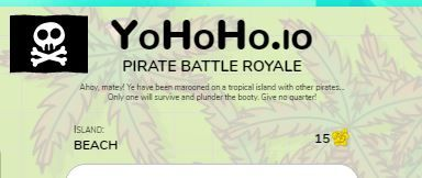 Yohoho.io Hacks Unblocked Game