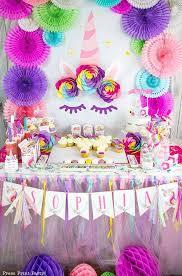 Unicorn Birthday Artivities