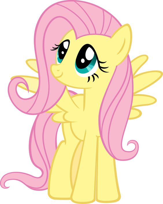 My Little Pony Fluttershy Character