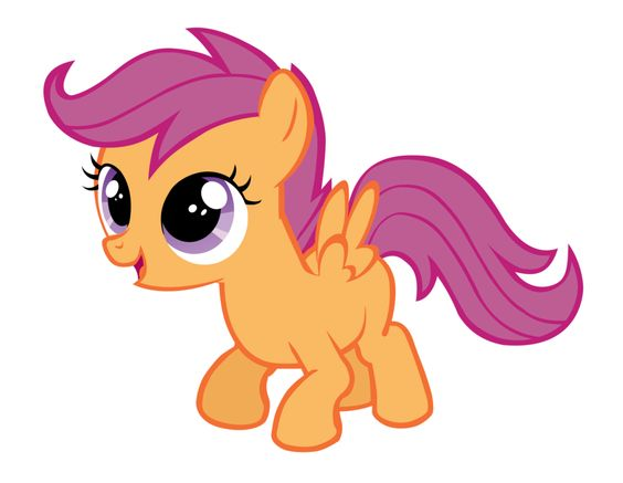 My Little Pony Scootaloo Character