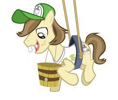My Little Pony Hayseed Turnip Truck Character