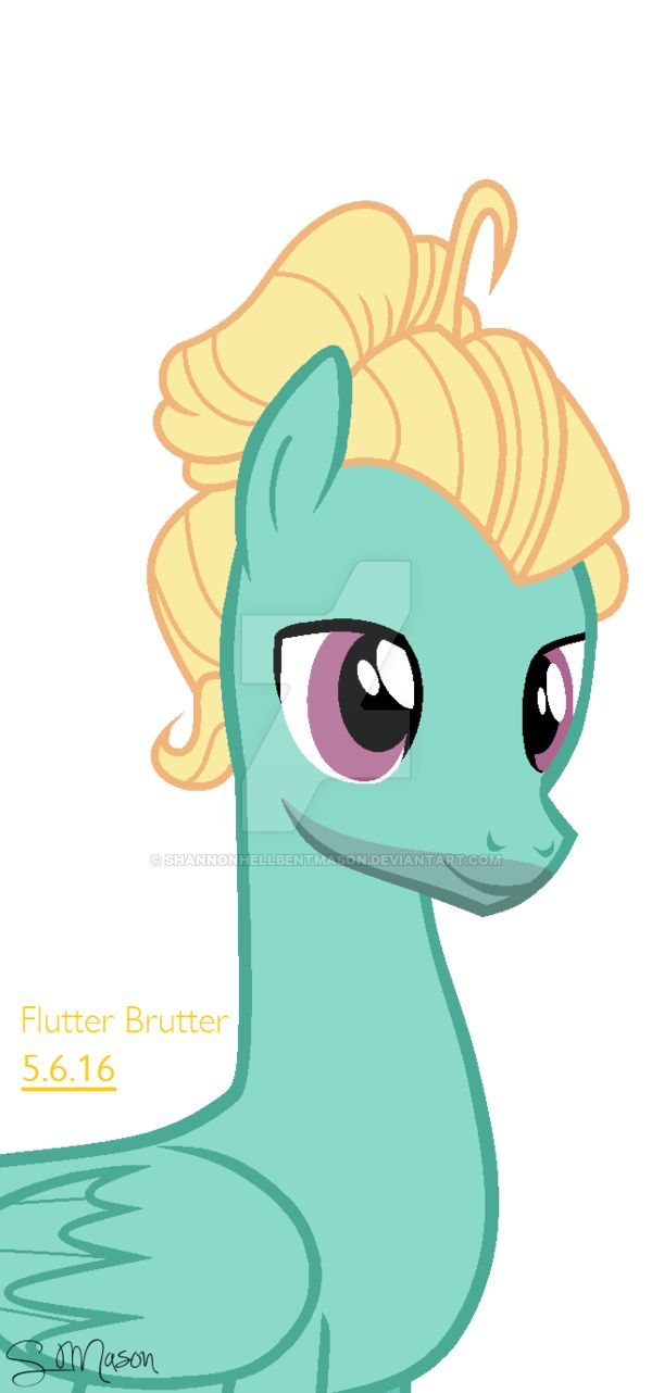 My Little Pony Zephyr Breeze Character