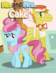 My Little Pony Mr And Mrs Cake Character
