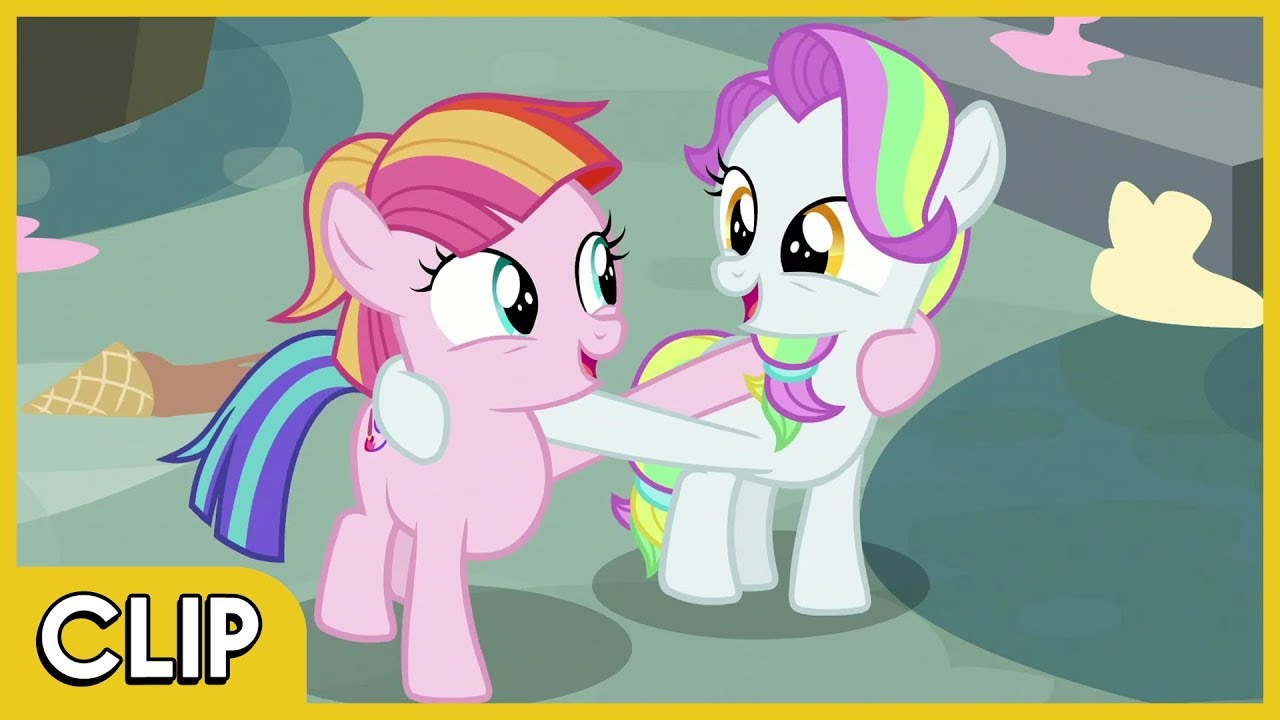 My Little Pony Toola Roola And Coconut Cream Characters