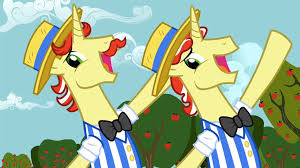 My Little Pony Flim And Flam Character