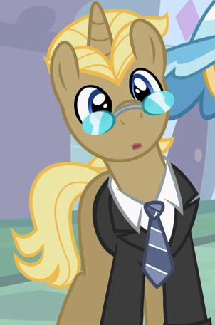 My Little Pony Fancy Pants' Entourage