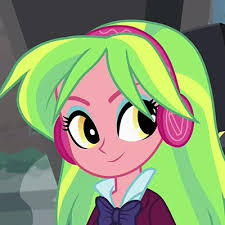 My Little Pony Equestria Girls Lemon Zest Character