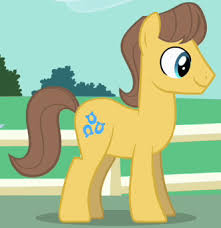 My Little Pony Caramel Character