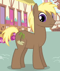 My Little Pony Crusoe Palm Character