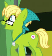 My Little Pony Bittersweet and Leadwing Character Name