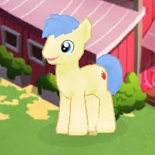 My Little Pony Red Delicious Character